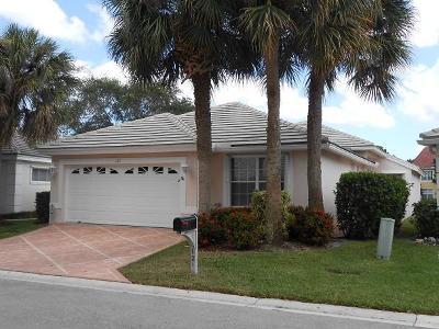 Broward County, Palm Beach County Single Family Home For Sale: 121 Harbor Lake Circle