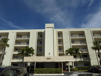 Tequesta Condo For Sale: 200 Intracoastal Place #206