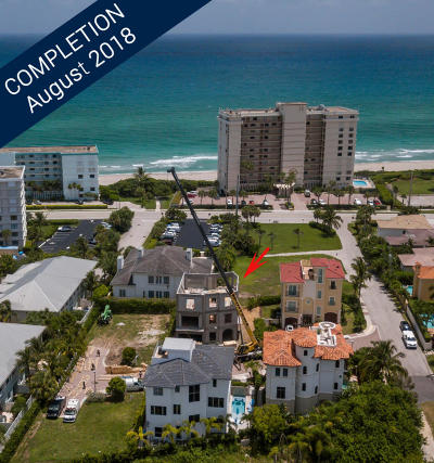 Juno Beach Single Family Home For Sale: 842 Ocean Side Drive
