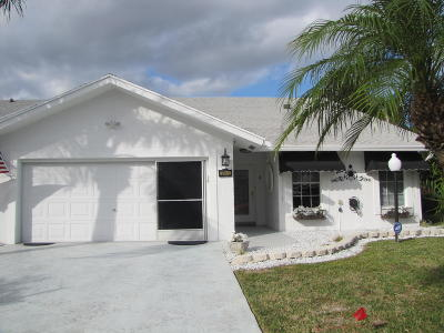 West Palm Beach Single Family Home For Sale: 3946 Dafilee Circle