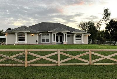 Acerage, Acreage, Acreage & Unrec, Acreage& Unrec, Acreage&unrec, Acreage, Loxahatchee, Acreage/Royal Ascott, Areage, Loxahatchee, Loxahatchee/Acreage, Royal Ascot Estates, Royal Palm Beach Acreage, The Acreage, The Acreage/Loxaha, Acarage Single Family Home For Sale: 17336 37th Place