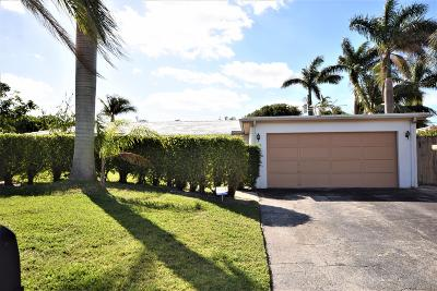 Boca Raton Single Family Home For Sale: 430 NE 36th Street
