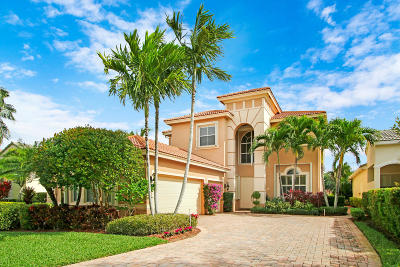 Palm Beach Gardens Single Family Home Contingent: 153 Via Condado Way