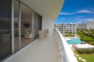 Palm Beach Condo For Sale: 2760 S Ocean Boulevard #409