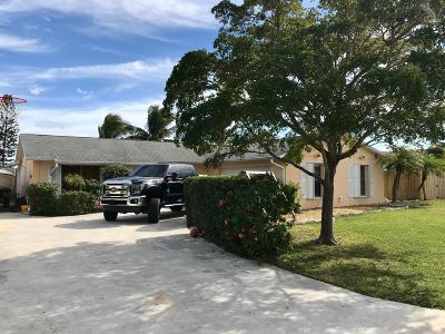 Hobe Sound Single Family Home For Sale: 9081 SE Eagle Avenue
