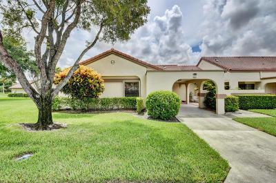 Boynton Beach Single Family Home For Sale: 5603 Parkwalk Circle E
