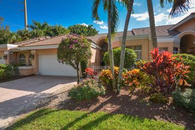 Boca Raton Townhouse For Sale: 5082 Windsor Parke Drive