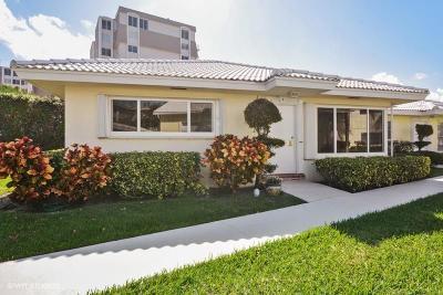 Broward County, Palm Beach County Single Family Home For Sale: 1920 S Ocean Boulevard #2-H