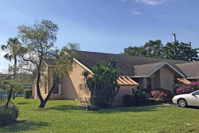 Boca Raton Single Family Home For Sale: 10996 Water Oak Manor
