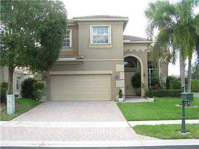 Delray Beach Single Family Home For Sale: 5834 Via Plata Circle
