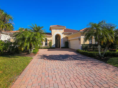 Palm City Single Family Home For Sale: 2501 SW Bridgeview Terrace