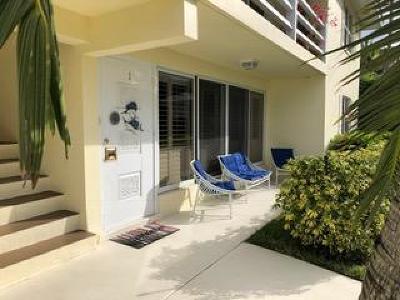 Delray Beach Condo Sold: 1920 S Ocean Boulevard #1