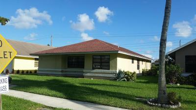 West Palm Beach Single Family Home For Sale: 5300 Kim Court