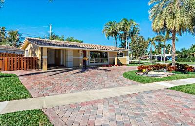 Deerfield Beach Single Family Home Contingent: 541 SE 4th Street