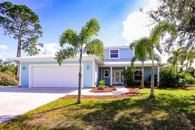 Port Saint Lucie Single Family Home For Sale: 1843 SE Elrose Street