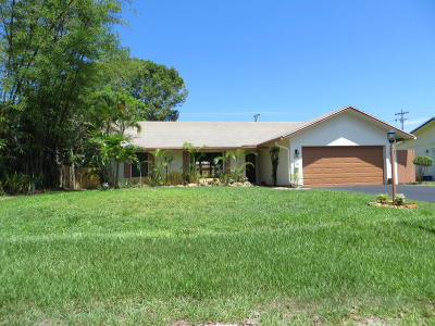 Delray Beach Single Family Home For Sale: 515 NW 4th Avenue