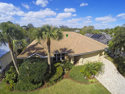 Jupiter Single Family Home Contingent: 18860 Misty Lake Drive