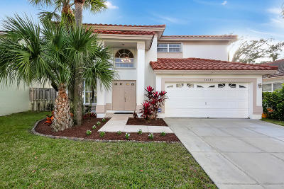 Boca Raton Single Family Home Contingent: 10643 Buttonwood Lake Drive