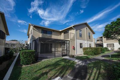 Hobe Sound Townhouse For Sale: 7405 SE Jamestown Terrace #Bldg 17
