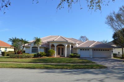 Palm City Single Family Home Contingent: 5027 SW Hammock Creek Drive