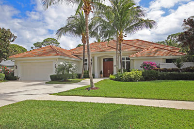 Tequesta Single Family Home For Sale: 19 Bayview Road