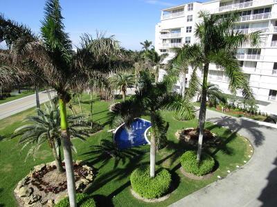 Palm Beach Condo For Sale: 3546 S Ocean Boulevard #511