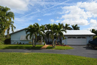 Stuart Single Family Home For Sale: 2811 NW St Lucie Lane