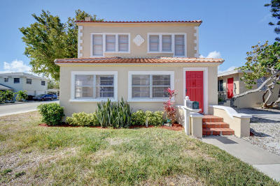 Lake Worth Multi Family Home For Sale: 331 S Federal Highway