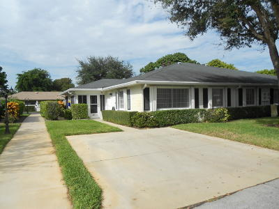 boynton beach Single Family Home Contingent: 10123 45th Way #491
