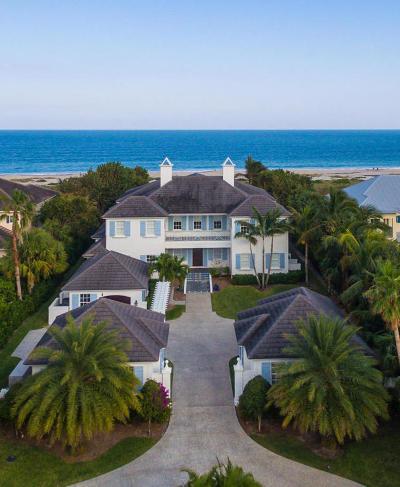 Vero Beach Single Family Home For Sale: 1804 Ocean Drive