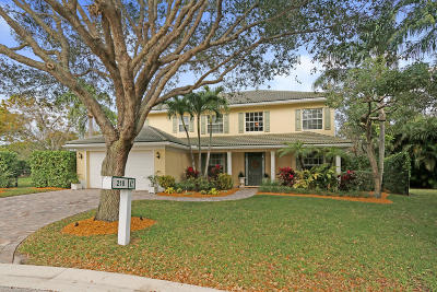 Jupiter Single Family Home Contingent: 218 Anhinga Lane