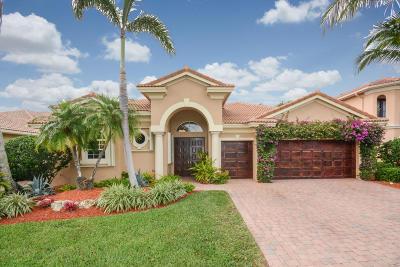Delray Beach Single Family Home For Sale: 8059 Laurel Ridge Court