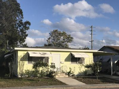 Lake Worth Single Family Home For Sale: 1030 F Street