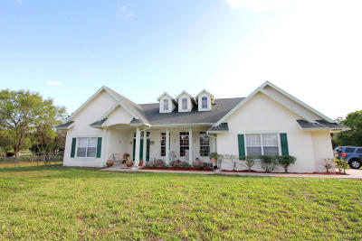 Loxahatchee Single Family Home For Sale: 16934 W Aquaduct Drive