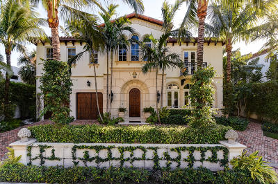 Palm Beach Single Family Home For Sale: 230 Atlantic Avenue