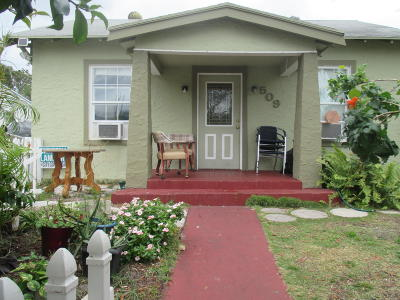 West Palm Beach Single Family Home For Sale: 509 50th Street