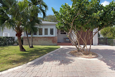 Lake Worth Single Family Home Contingent: 421 O Street