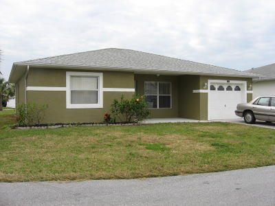Fort Pierce Single Family Home For Sale: 6661 Tulipan