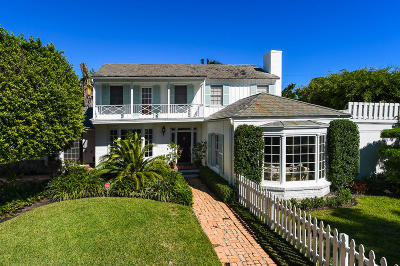 Palm Beach Single Family Home For Sale: 249 Monterey Road