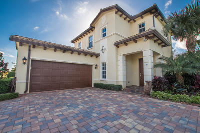 Jupiter Single Family Home Contingent: 244 Behring Way