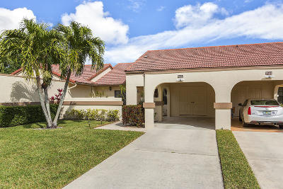 Boynton Beach Single Family Home Contingent: 5662 Parkwalk Circle E