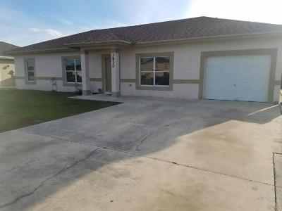 Okeechobee Single Family Home For Sale: 3820 SE 12th Drive