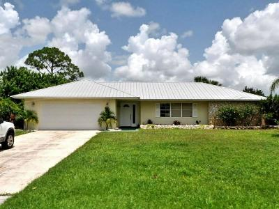 Port Saint Lucie Single Family Home For Sale: 135 NE Naranja Avenue