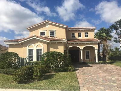 Jupiter Single Family Home For Sale: 124 Parey Island Place