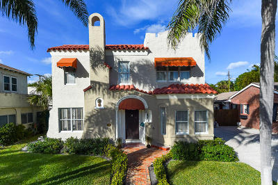 West Palm Beach Single Family Home For Sale: 149 Edgewood Drive