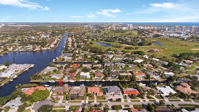 North Palm Beach Single Family Home For Sale: 643 Riverside Road