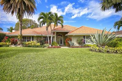 Hobe Sound Single Family Home For Sale: 8270 SE Sanctuary Drive