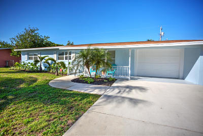 Tequesta Single Family Home Contingent: 18992 SE Barus Drive