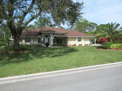 Fort Pierce Single Family Home For Sale: 3221 Bent Pine Dr