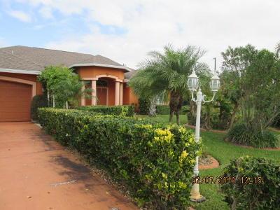 Port Saint Lucie Single Family Home Contingent: 631 SW Paar Drive